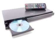 bluray player hire