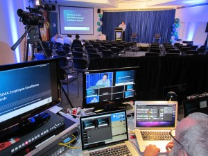 Webcasting equipment